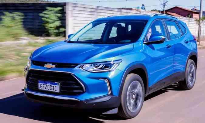 Chevrolet Tracker(foto: Jorge Lopes/EM/D.A Press)