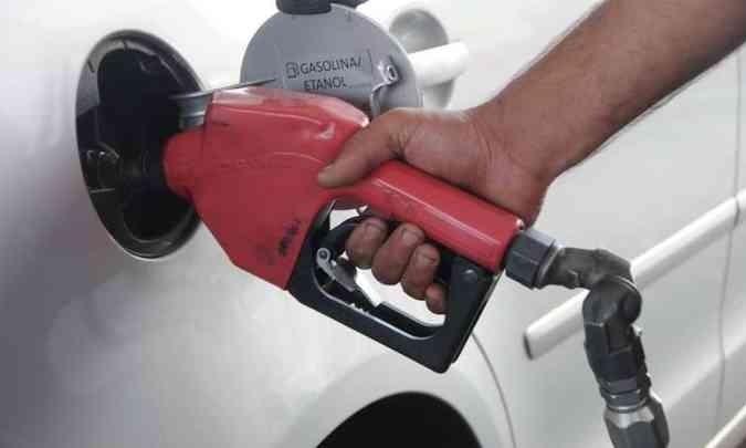 O desabastecimento de combustíveis exige cautela para quem ainda tem algo no tanque do carro(foto: Cristina Horta/EM/D.A Press - 26/8/14)