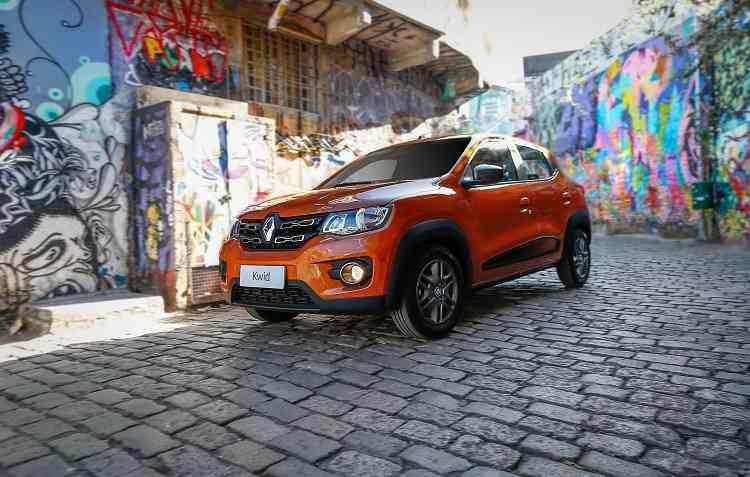 Kwid apareceu no mercado em agosto do ano passado. Foto: Renault / Divulgação -