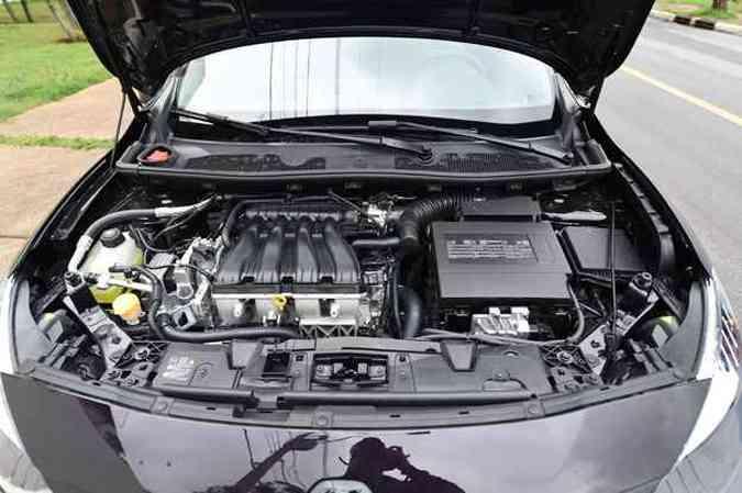 Motor é o mesmo 2.0, de 143cv com etanol(foto: Leandro Couri/EM/D.A Press)
