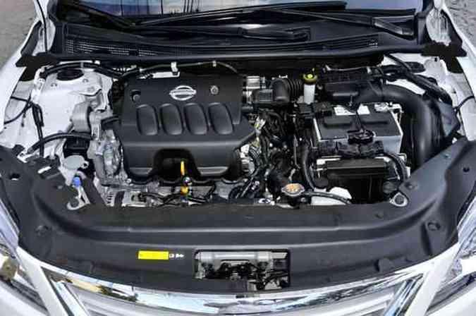 Motor 2.0 usa corrente, que dispensa manutenção, em vez de correia dentada(foto: Juarez Rodrigues/EM/D.A Press)