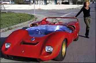 Parceria entre De Tomaso e Carrol Shelby resultou no P70, modelo com motor traseiro(foto: Fotos: Deep Research Baku/Reproduções)