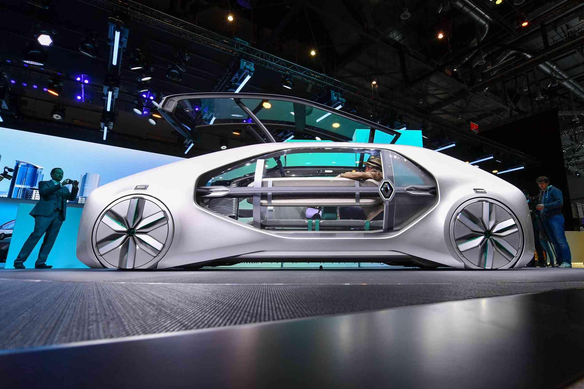 Protótipo da Renault apresentado no Salão de Genebra  - FABRICE COFFRINI