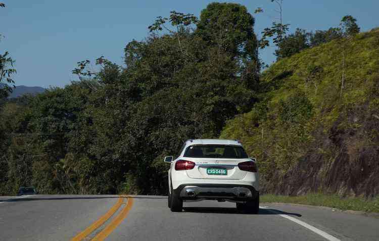 Desde 2016, a Mercedes-Benz produz o GLA em Iracemápolis, São Paulo - Mercedes-Benz / Divulgação