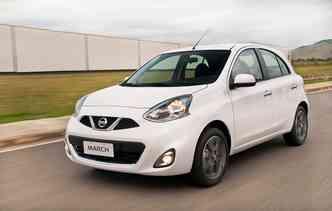 March já aumentou cerca de R$ 7 mil desde o seu lançamento. Foto: Nissan / Divulgação