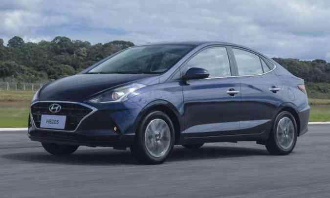 HB20S(foto: Hyundai/Divulgação)