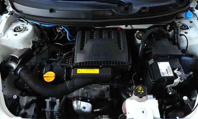 Motor 1.3 responde melhor em rotações mais elevadas(foto: Ramon Lisboa/EM/D.A Press)