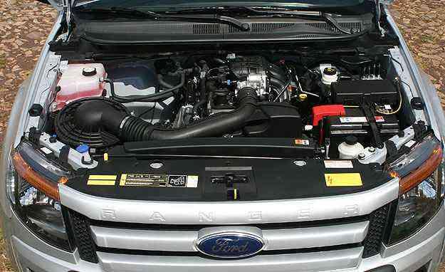 Motor 2.5 tem bom rendimento mas bebe na mesma proporção - Paulo Henrique Vivas/Esp.EM/D.A Press