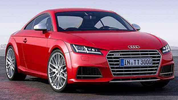 Audi TTS (com tração integral) também recebeu novo visual - Audi/Divulgação
