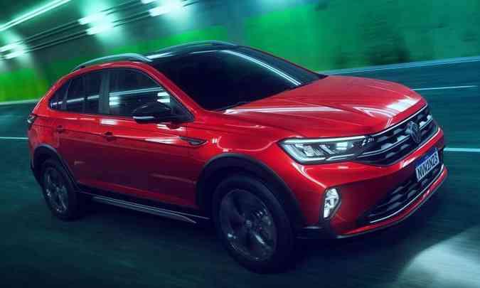 O novo SUV compacto terá preço entre a versão topo de linha do Polo e a de entrada do T-Cross(foto: Volkswagen/Divulgação)