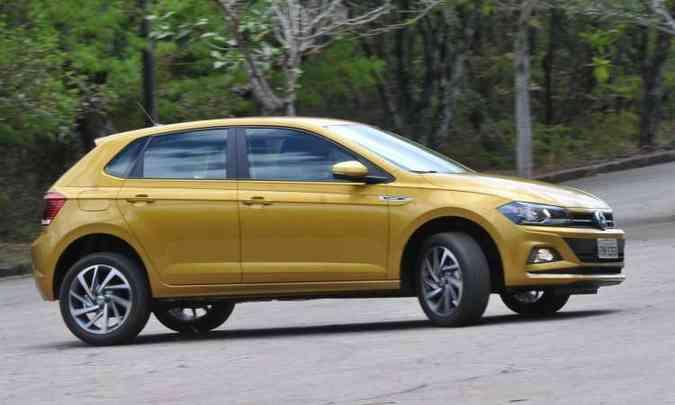 VW Polo é o sexto mais vendido do Brasil(foto: Jair Amaral/EM/D.A Press)