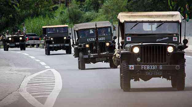 Veículos com mais de 70 anos viajaram de Minas para o Rio - Adriano Ventura/Arquivo Pessoal