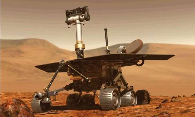 Após tempestade de poeira, Opportunity perdeu contato com a Terra(foto: Nasa/Divulgação)