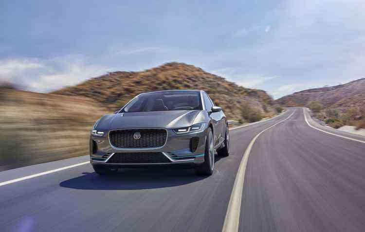 Veículo é totalmente elétrico - Jaguar / Divulgação