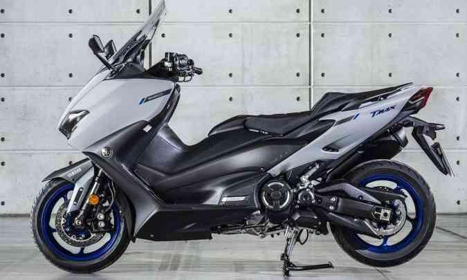 Modelo tem quadro em alumínio com dupla trave e motor integrado, como nas motocicletas(foto: Yamaha/Divulgação)