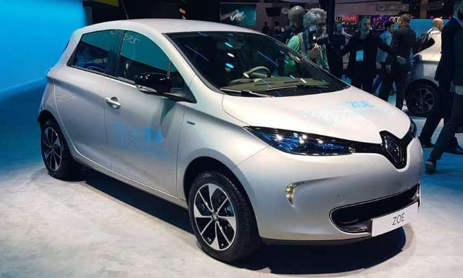 Renault ZOE será vendido no Brasil com preço a partir de R$ 149 mil(foto: Pedro Cerqueira/EM/D.A Press)