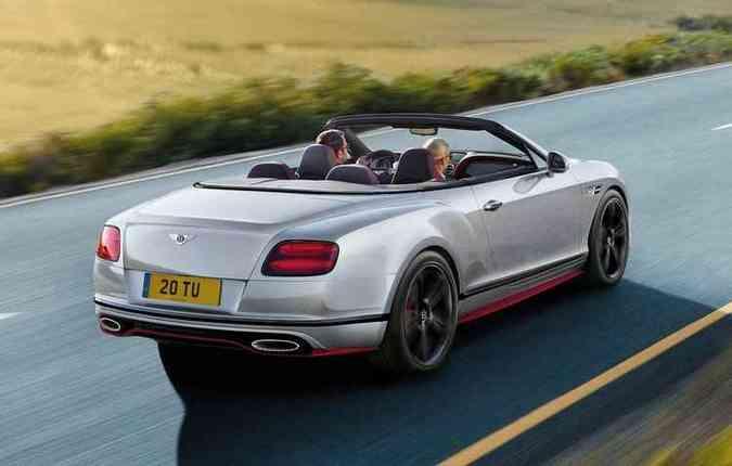 Black Edition vem nas carrocerias cupê e conversível(foto: Bentley/Divulgação)