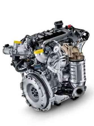 Turbina de baixa inércia e 34mm de diâmetro é fixada no cabeçote do motor(foto: Hyundai/Divulgação)