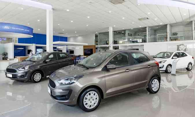 Até novembro, as vendas de autoveículos caíram 28,1% no mercado brasileiro, de acordo com a Anfavea (foto: Ford/Divulgação)