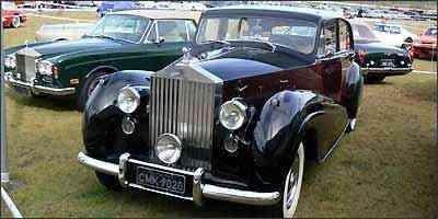 Rolls-Royce Silver Wraith 1954 - Fotos: Boris Feldman/Esp. EM/D.A Press