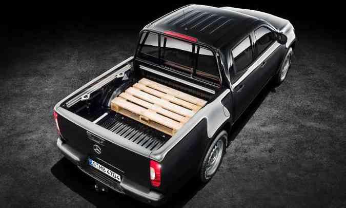 Carga útil do modelo é de 1.042 quilos(foto: Mercedes-Benz/Divulgação)