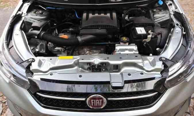 Motor 1.3 tem bom torque e potência, mas câmbio não ajuda(foto: Gladyston Rodrigues/EM/D.A Press)