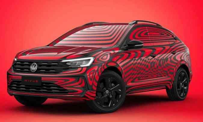 O modelo terá faróis e lanternas em LED, além de luz diurna DRL, também em LED(foto: Volkswagen/Divulgação)