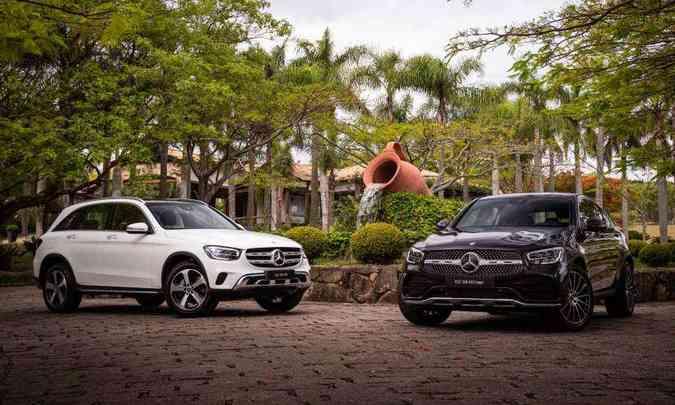 O GLC SUV e Coupé são diferenciados por alguns detalhes, como a grade frontal(foto: Estúdio Malagrine/Mercedes-Benz/Divulgação)
