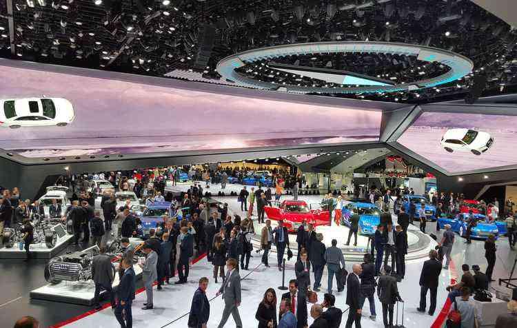 Maior evento automotivo do planeta acontece a cada dois anos - Jorge Moraes/DP
