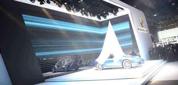 Modelo foi o grande destaque da Porsche em Detroit - Naias/Divulgação