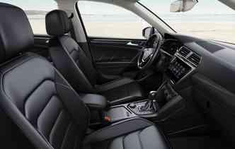 Novo Tiguan será fabricado na planta de Puebla, no México, e chega às lojas em abril. Foto: Volkswagen / Divulgação