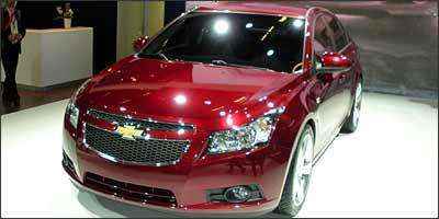 Chevrolet Cruze - Fotos: Eduardo Aquino/EM/D.A Press - 2/10/08