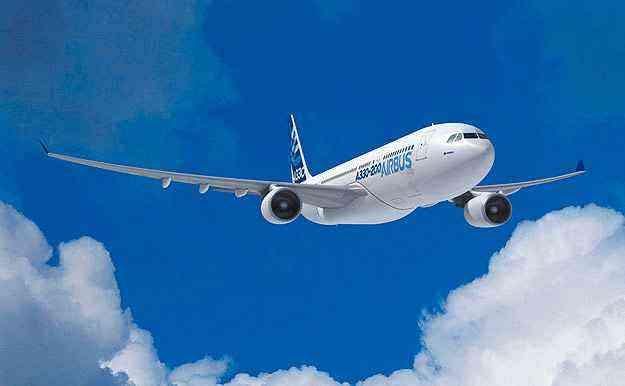 Seis A330-200 vão integrar frota da Azul. TAM possui dez - Airbus/Divulgação
