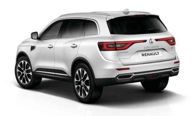 Como a frente, traseira segue conjunto ótico estendido dos últimos Renault de luxo(foto: Renault/Divulgação)