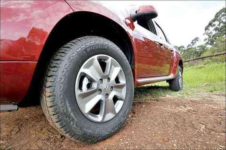 Rodas de liga leve aro 16 polegadas são de série - Juarez Rodrigues/EM/D.A Press