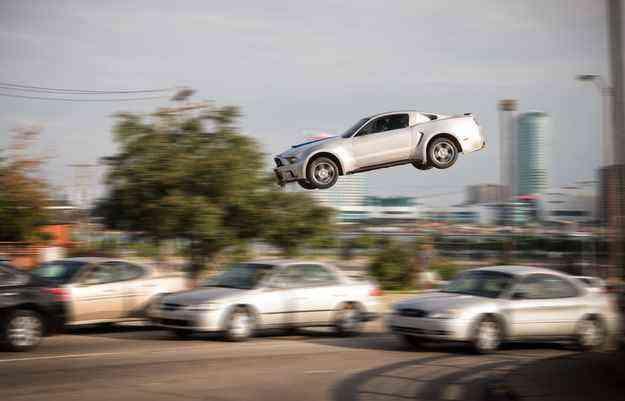Carro do filme é inspirado no Mustang GT 500 - Melinda Sue Gordon