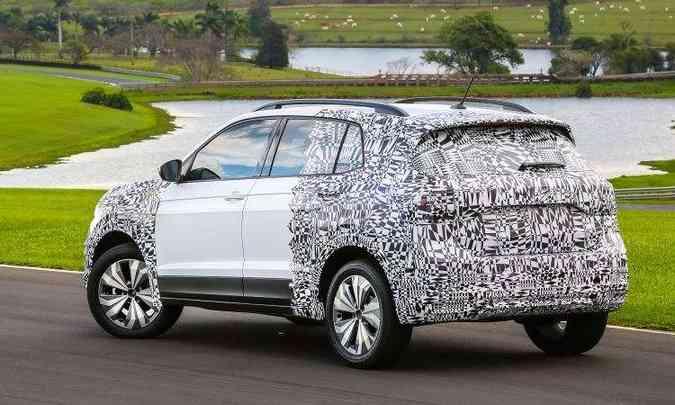 SUV é construído sobre a plataforma MQB, a mesma do Polo e Virtus(foto: Volkswagen/Divulgação)