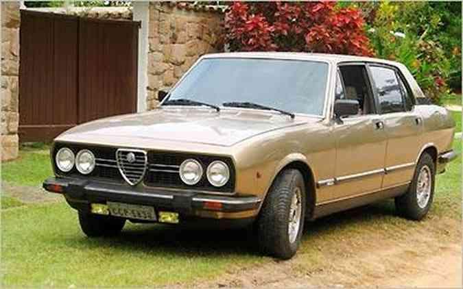(foto: Fotos: Alfa Romeo Clube MG/Divulgação)