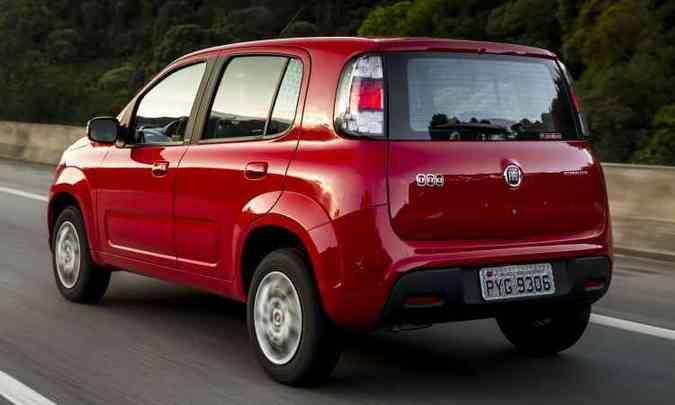 Versão de entrada Attractive agora parte de R$ 41.840(foto: Fiat/Divulgação)
