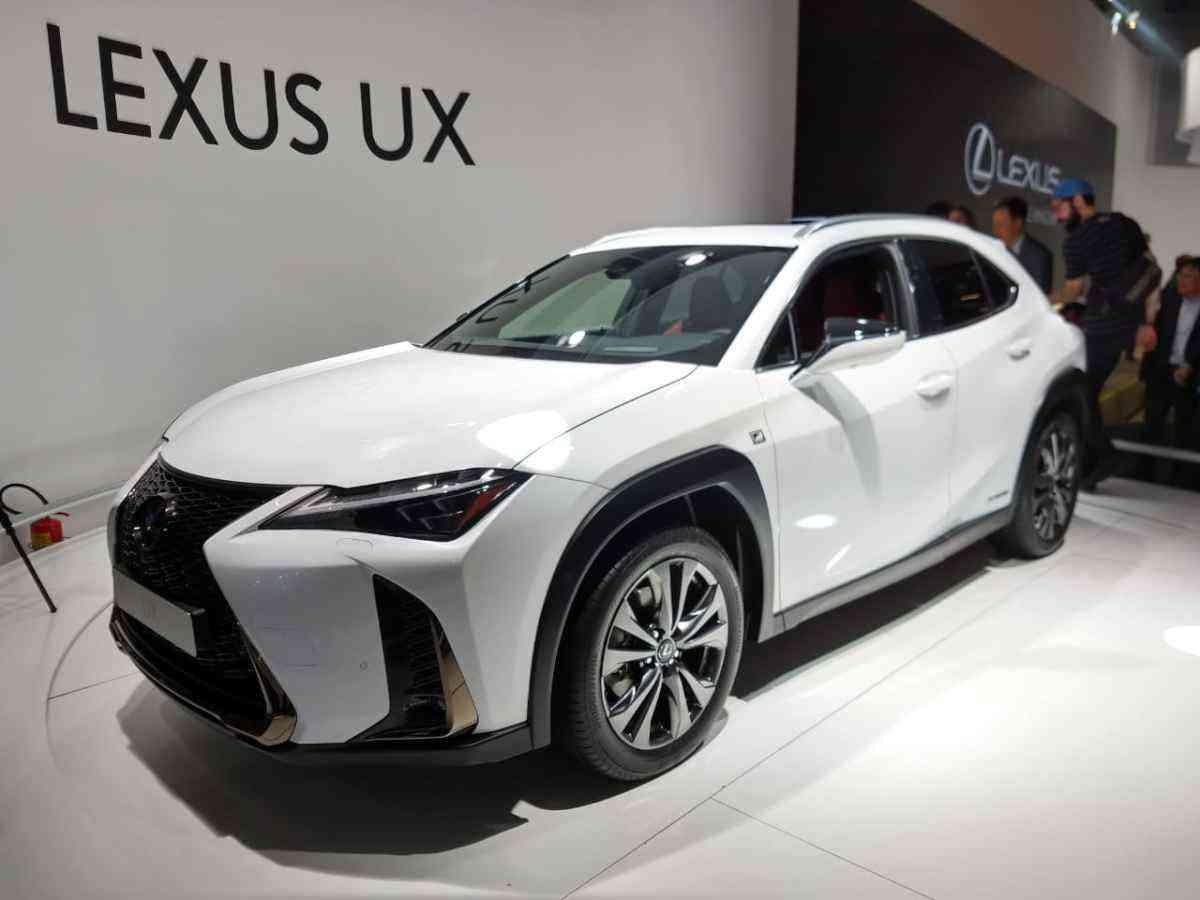O Lexus UX 250h chegará ao mercado brasileiro com motor 2.0 a gasolina e outro elétrico - Pedro Cerqueira/EM/D.A Press