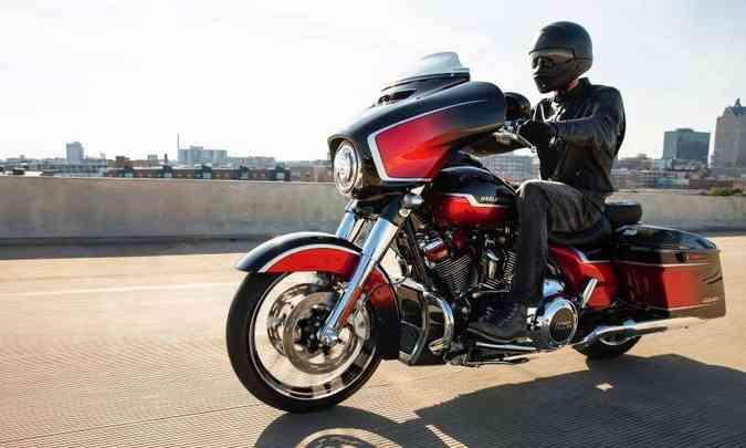 Harley-Davidson CVO Street Glide 117(foto: Harley-Davidson/Divulgação)