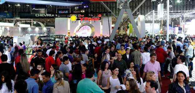 Esgotamento do primeiro lote de ingressos faz organização sonhar com recorde de público  - Salão Internacional do Automóvel de São Paulo/ divulgação