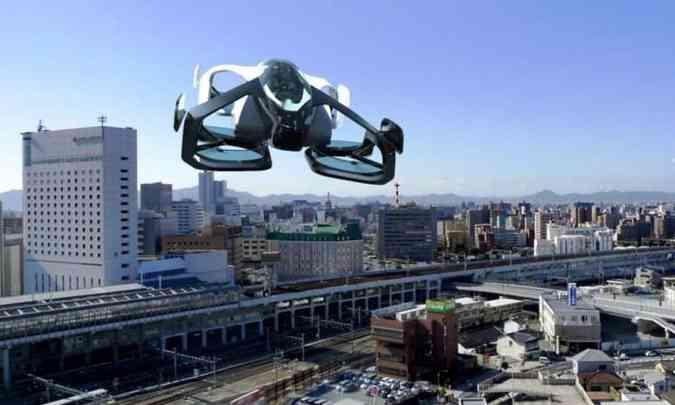 Conceito SD-XX traz o design mais definitivo do veículo(foto: Sky Drive/Divulgação)
