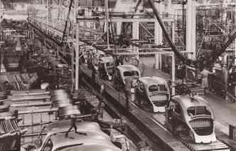 Planta da Volkswagen em Anchieta foi a responsável por começar a fabricar o modelo.(foto: Volkswagen / Divulgação)