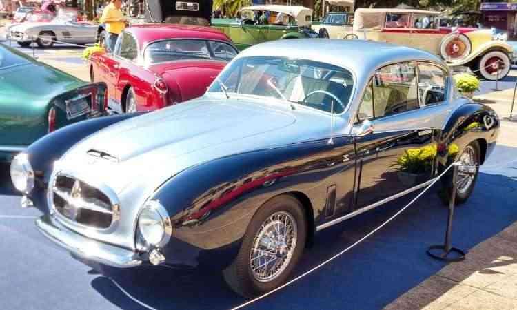 Fiat Zagato Coupé 1951 - Pedro Cerqueira/EM/D.A Press