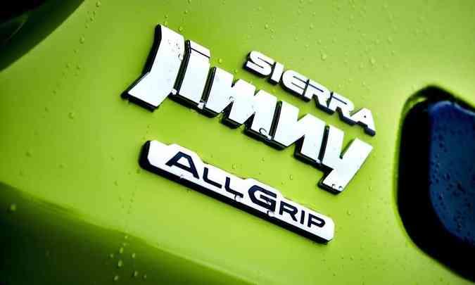 Nova geração do Jimny Sierra chega nas concessionárias em novembro(foto: Suzuki/Divulgação)