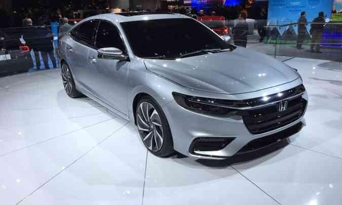 Honda apresenta o Insight, que tem a missão de ser o híbrido mais econômico do mundo(foto: Enio Greco/EM/D.A Press)
