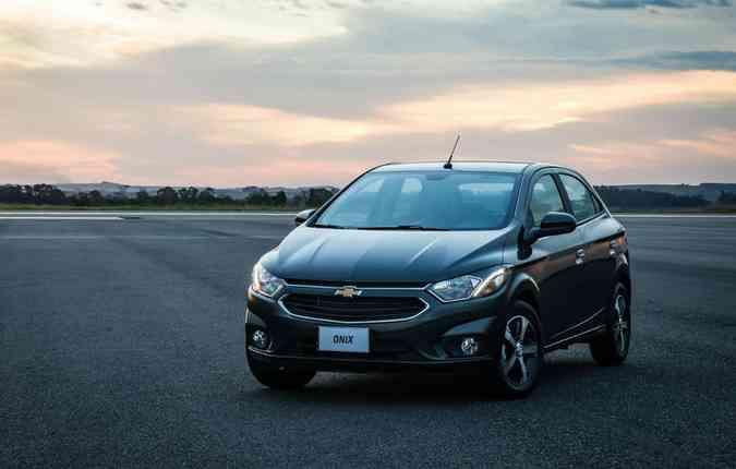 Em apenas 3 anos de mercado, o Onix tornou-se o carro mais vendido do Brasil(foto: Chevrolet/Divulgacao)