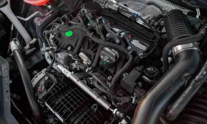 As versões mais caras trazem sob o capô um motor 1.0 turbo, que entrega até 116cv e 16,8kgfm.(foto: Chevrolet/Divulgação)