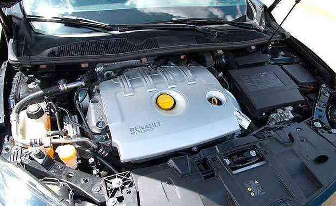 Motor 2.0 turbo tem 36,7 kgfm de torque a 3.000 rpm(foto: Thiago Ventura/EM/D.A Press)